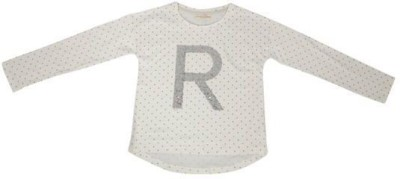 Raine And Jaine T- shirt For Girls(White)