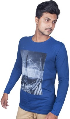 Pape Printed Men's Round Neck T-Shirt
