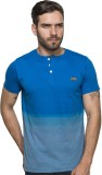 Enquotism Solid Men's Henley Light Blue ...