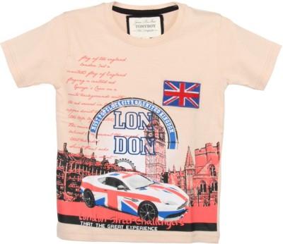 Tonyboy Printed Boy's Round Neck T-Shirt