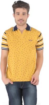 Stride Printed Men's Fashion Neck T-Shirt
