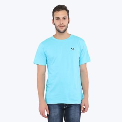 Triplegrass Solid Men's Round Neck T-Shirt