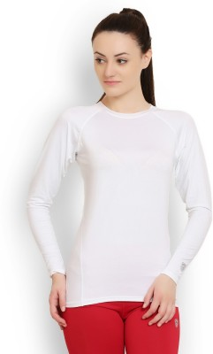 Armr Solid Women's Round Neck T-Shirt