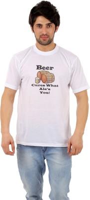 Escrow Printed Men's Round Neck T-Shirt