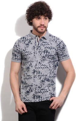 Easies Printed Men's Polo Grey T-Shirt