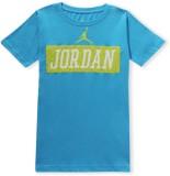 Jordan Graphic Print Boy's Round Neck T-...