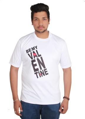 Star X Printed Men's Round Neck T-Shirt