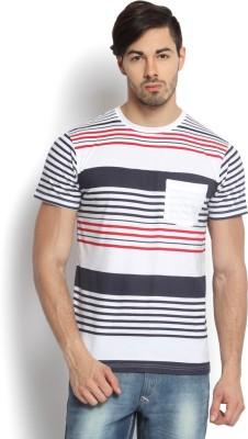 Kingaroo Printed Men's Round Neck White T-Shirt