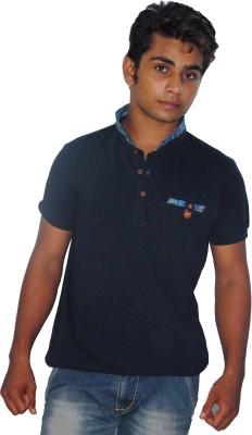 Fashion Passion Solid Men's Fashion Neck T-Shirt