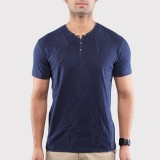 Sandeep Mahajan Solid Men's Round Neck B...