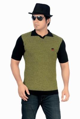 Core Self Design Men's Mandarin Collar T-Shirt