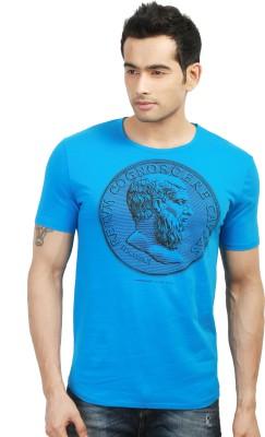 Design Classics Printed Men's Round Neck T-Shirt