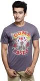 GUN AND ROSES Printed Men's Round Neck G...