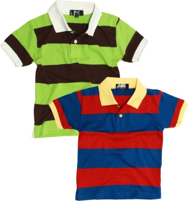 H&K Embroidered Boy's Polo Neck T-Shirt