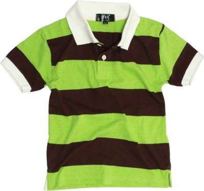 H&K Striped Boy's Polo Neck T-Shirt