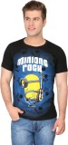 4Play Printed Men's Round Neck T-Shirt