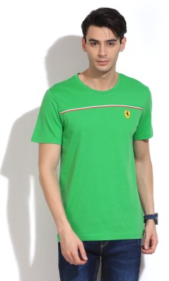 Puma Solid Men's Round Neck T-Shirt