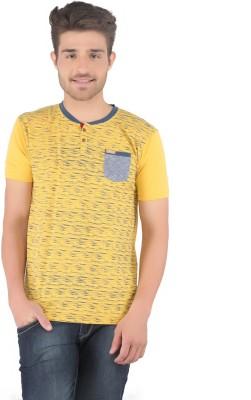 Stride Printed Men's Round Neck T-Shirt