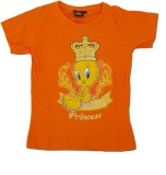 Kuddle Kid Girls Printed (Orange)