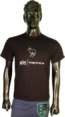 Keywords Printed Men's Round Neck T-Shirt