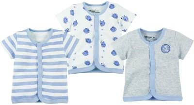 Babyoye Premium Printed Baby Boy,s Round Neck Grey T-Shirt
