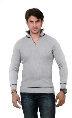 Alvinroyalspirit Solid Men's Fashion Neck T-Shirt