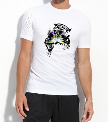 Voguestyle Graphic Print Men's Round Neck T-Shirt