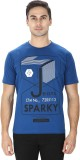 Sparky Printed Men's Round Neck Blue T-S...