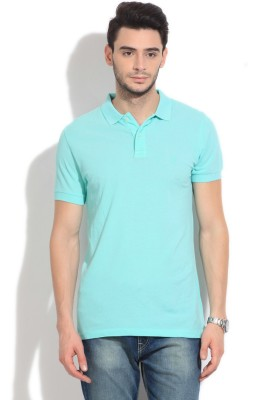 French Connection Solid Men's Polo T-Shirt