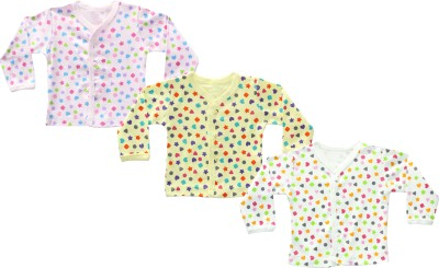 Infano Printed Baby Boy's Round Neck Multicolor T-Shirt