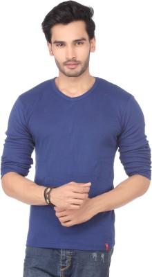 DXI Solid Men's V-neck T-Shirt