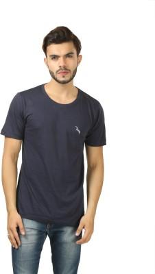 BrownBird Solid Men's Round Neck T-Shirt