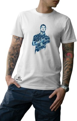 Dasvastratrading Solid Men's Round Neck White T-Shirt