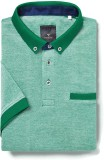 Invictus Self Design Men's Polo Neck Mul...