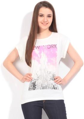 Arrow Printed Women's Round Neck T-Shirt