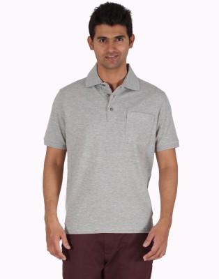 Furore Solid Men's Polo Grey T-Shirt