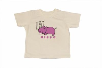 TSG My Kid Printed Baby Girl's Round Neck T-Shirt