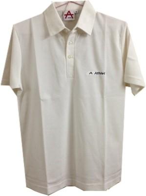 Athlet Solid Men's Flap Collar Neck T-Shirt