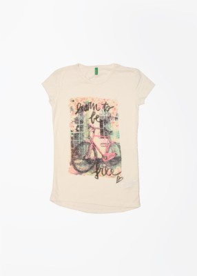 UCB Printed Round Neck T-Shirt