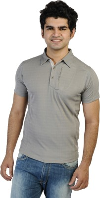 T10 Sports Solid Men's Polo T-Shirt