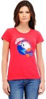 Yepme Women's Clothing - Yepme Printed Women's Round Neck Red T-Shirt
