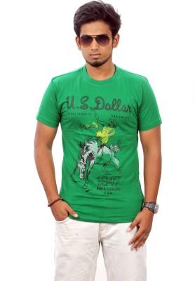 Stylefox Graphic Print Men's Round Neck T-Shirt