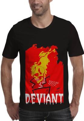 Povonio Graphic Print Boy's Round Neck T-Shirt