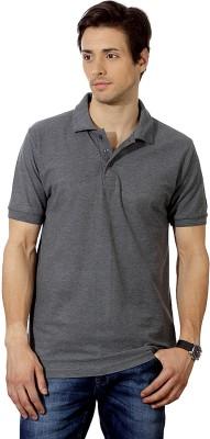 Top Notch Solid Men's Polo Grey T-Shirt