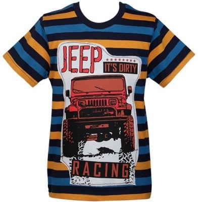 Ventra Applique Boy's Round Neck T-Shirt