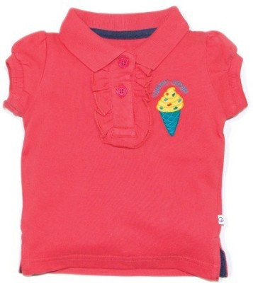 Solittle Embroidered Baby Girl's Polo T-Shirt