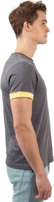 Chumbak Printed Men's Round Neck Black T-Shirt