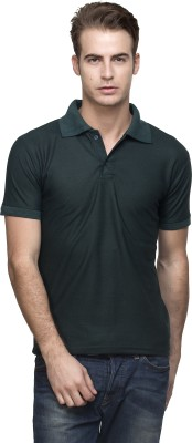 Lambency Solid Men's Polo Neck T-Shirt