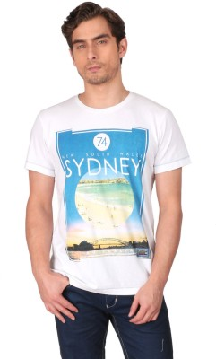 CFT Printed Men's Round Neck T-Shirt