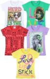 Eimoie Girls Printed (Multicolor)